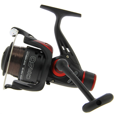 NGT CKR50 Coarse Fishing Reel With 8lb Line • 12.95£