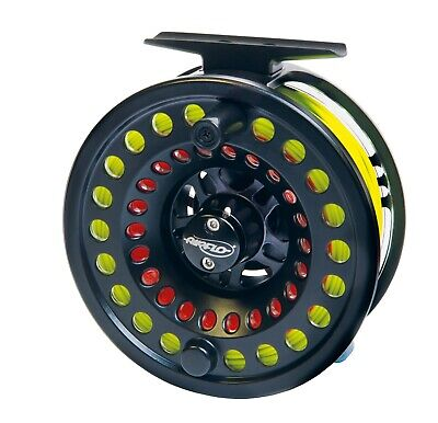 Airflo Switch Black Fly Fishing Reels Sizes 4/6 Or 7/9 + 4 Spare Spools | NEW • 69.99£