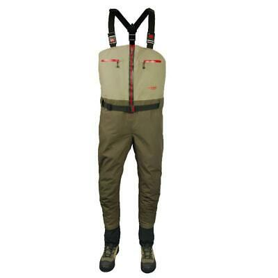 Airflo Airweld Zip Front Breathable Stocking Foot Chest Waders All Sizes   NEW • 129.99£