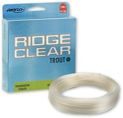 Airflo Ridge Clear Tactical Freshwater Floating Fly Fishing Line WF3,4,5,6 | NEW • 24.99£