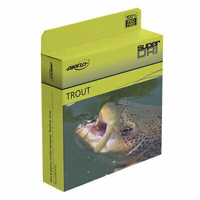 Airflo Super Dri Elite Double Taper Floating Fly Lines DT3,4,5,6 | NEW • 24.99£