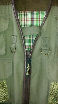 Snowbee Fishing Vest Long Version - Size L Not Used But Second Hand (mint Condi • 8.50£