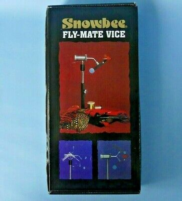 Snowbee Fly-mate Vice ~ Pedestal Standard Version ~  New In Box • 44.95£