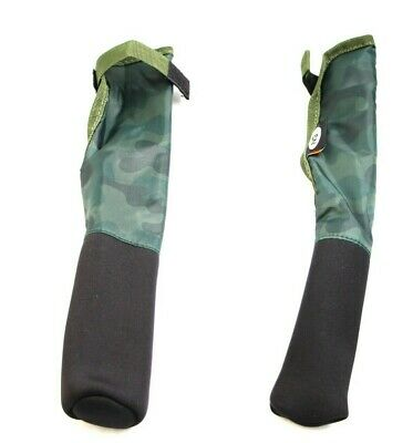 New Woodbury Dapple Camo NGT Carp Fishing Neoprene Rod Tip & Butt Protectors • 22.95£