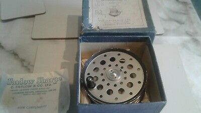 Vintage Farlows Python Fly Reel With Box • 16£