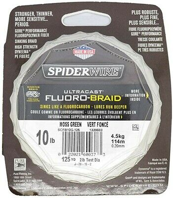 Spiderwire Ultracast 200yd 10lb Fishing Line  • 6.50£