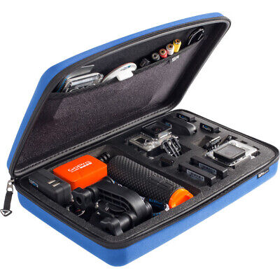 SP Gadgets POV Storage Case Large For Action Camera Cameras And Accessories Blue • 35.99£