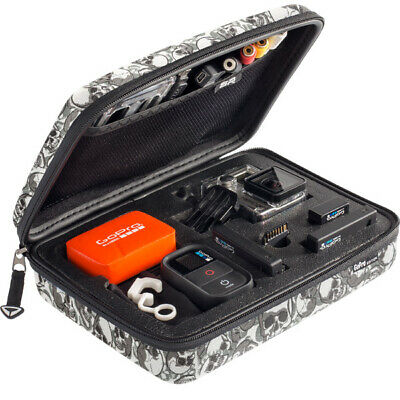 SP Gadgets POV Storage Case For Action Camera & Accessories Black Skull - Medium • 31.99£