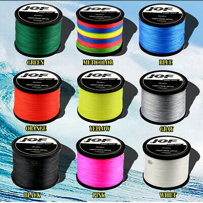 8 Strands  300M/500M Multicolor Braided Fishing Line Carp Weaving Tech 100% PE • 15.51£