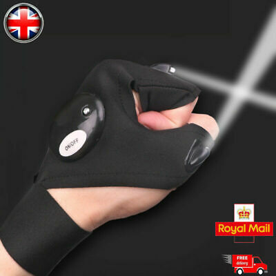 LED Gloves With Waterproof Lights • 7.19£