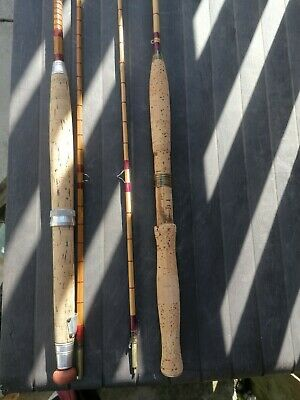 Vintage Js Walker Of Alnwick And An Other Cane Vintage Rods • 49.99£