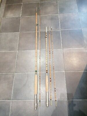 Vintage Split Cane Fishing Rods • 34.99£