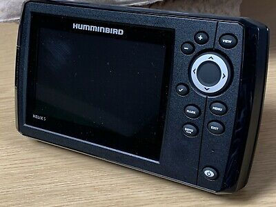 Humminbird Helix 5 Chirp Gps G2. Includes Transducer. Boxed And Mint. Uk Sale. • 299.99£