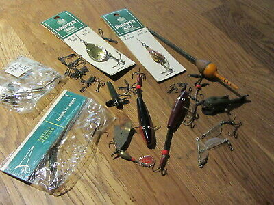 Collection Of Vintage Fishing Items - Abu And Others • 10£