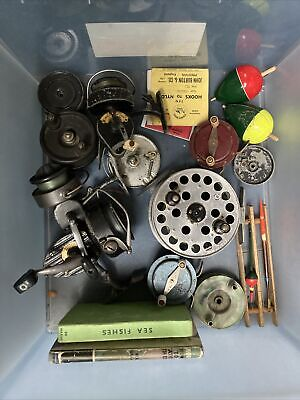 Small Quantity Of Vintage Fishing Tackle • 45£