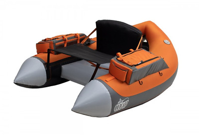 Outcast SUPER FAT CAT Float Tube, Grey/Orange , Low International Shipping Rates • 392.21£