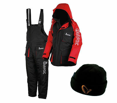 New Imax Thermo Suit 2pc Sea Fishing 100% Waterproof + Free Thermal Hat • 104.95£