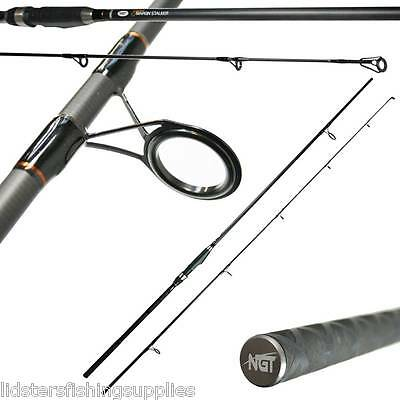 2 X 9ft 2pc 2.5lb Dynamic Margin Carp Fishing Stalker High Carbon Rods Spinning • 65.97£