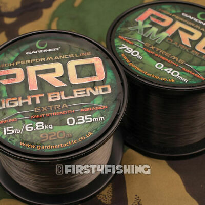 Gardner Tackle Pro Mono Mainline - Carp Pike Barbel Tench Coarse Fishing Line • 14.99£