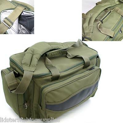 NGT Olive Green Carp Coarse Fishing Tackle Bag Holdall Quality Bag 909 Insulated • 18.95£