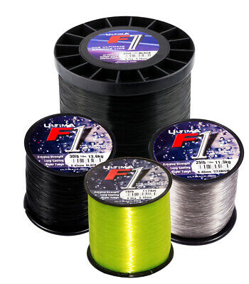 Ultima F1 Mainline - Cod Bass Conger Eel Ray Sea Beach Fishing Line Spool Tackle • 14.50£