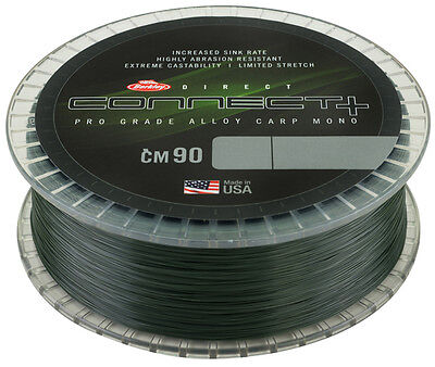 Berkley NEW Direct Connect CM90 CARP Mono Line - 1200m Spool - All B/S  • 21.99£