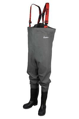 Imax Nautic Chest Waders Cleated Sea Fishing Sizes 6 7 7.5 8 9 10 11 12 • 49.95£