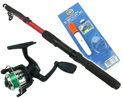 Junior Sea Fishing Set Including Rod Reel & Sea Float Set • 12.99£
