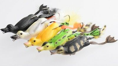 SAVAGE GEAR The Fruck 3D Hollow Duckling Weedless Pike Lure • 8.95£