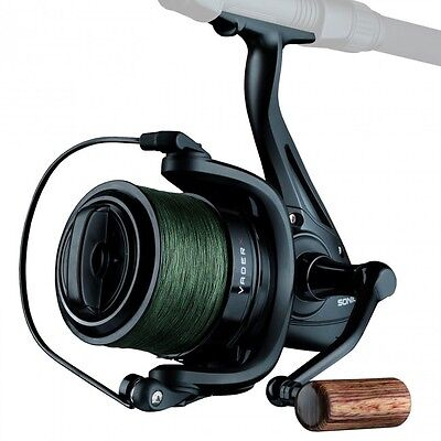 Sonik Vader X Spod / Marker Reel With 200m 30lb Braid NEW Carp Fishing SVX8000 • 49.95£