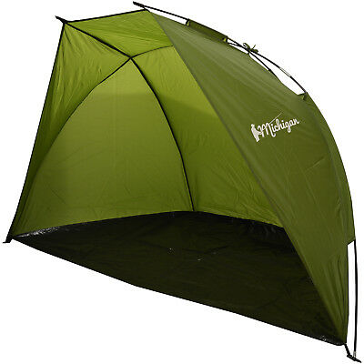 Michigan 1/2 Person Dome Fishing Tent/Shelter Lightweight Compact Bivvy Bivvi • 9.95£