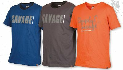Savage Gear Predator T Shirt Fishing All Colours And Sizes • 12.95£