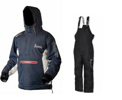 Imax ARX-20 Thermo Smock + Imax Bib N Brace Sea Beach Boat Fishing S M L XL XXL • 89.95£