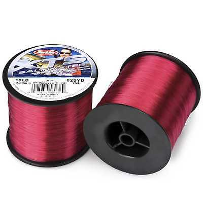 Berkley NEW XTS Saltwater Red Mono Bulk Sea Fishing Line - All Breaking Strains • 9.99£