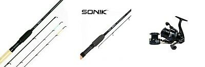 Sonik SKSC Commercial Pellet Waggler Or Feeder Rod Rods 9ft 10ft 11ft Or Reel • 42.95£