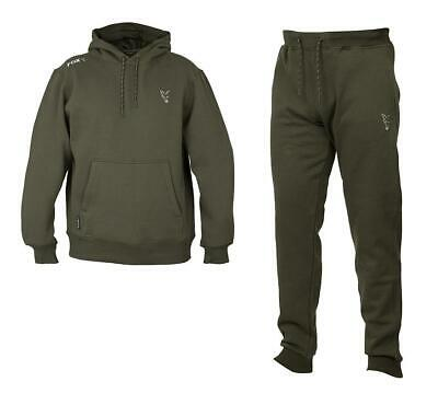 Fox Collection Green Silver Hoody & Joggers / Carp Fishing Clothing • 64.98£