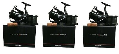 Sonik Vader X 6000 Or 8000 RS Quick Drag System Reel Reels  1 2 Or 3 • 149.95£