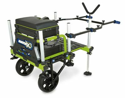 Fox Matrix Superbox System 2 Wheel Transporter / Carp Fishing • 89.99£