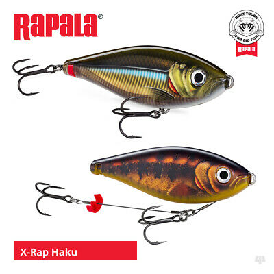 Rapala X-Rap Haku Lures - Pike Muskie Zander Catfish Predator Fishing Tackle • 20.99£