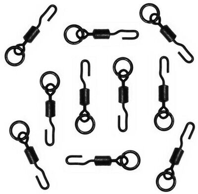 50 PCS Spinner Swivels Size 11 For Ronnie Rig Carp Fishing UK STOCK • 5.99£