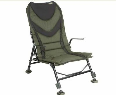 D.A.M MAD Specialist Pro High Back Carp Armchair Adjustable Legs RRP £125 • 74.95£