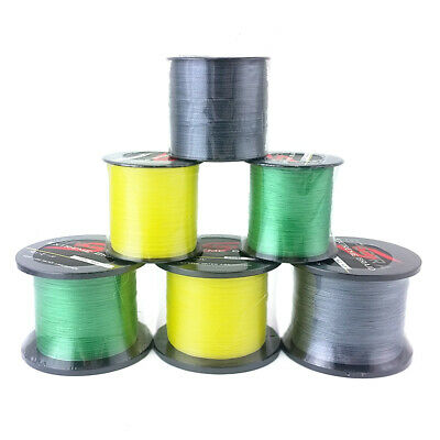 UK PE Sea Fishing Line 100M 300M 500M 1000M 4 Strands Dyneema Extreme Braid • 13.89£