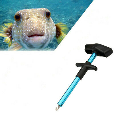 Easy Fish Hook Remover Disgorger Detacher T Bar Fishing Tackle Safe Removal Tool • 5.19£