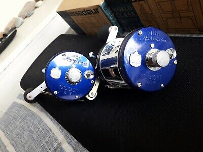 A Pair Of Abu 6500 C3CT Blue Elite With Spare Spools • 170£