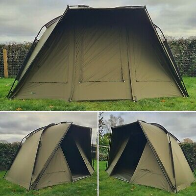Quest Defier 1 Man Bivvy Carp Fishing Overnight Shelter Tackle 2 Brolly System • 339.99£