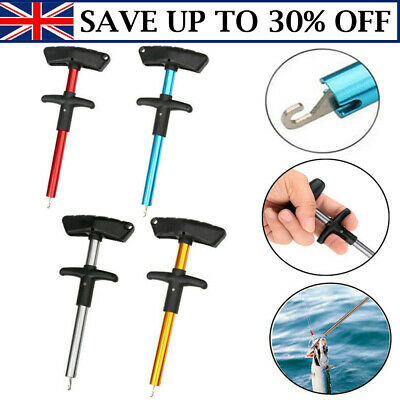 Easy Fish Hook Remover T-Handle Detacher Extractor Fishing Tackle Portable Tool • 3.75£
