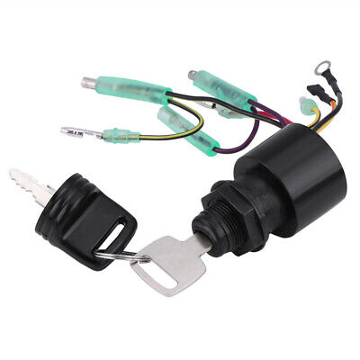 Ignition Key Switch Control 87-17009A5 For Boat Mercury Outboard Engine Assembly • 40.24£