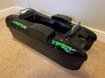 Viper X Range Bait Boat With Echo Sounder 7 Spare Batteries & 2 Rapid Chargers • 460£