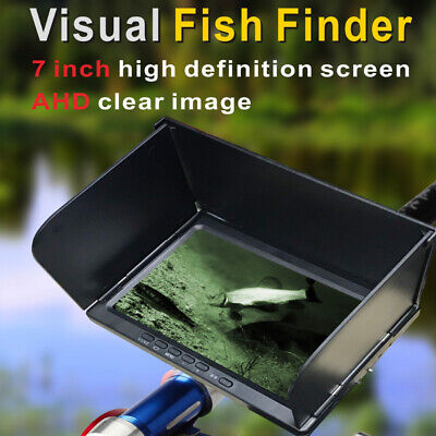 X11 7  Visual Fish Finder AHD Clear Image Night Vision Camera For Ice Boat 30M. • 171.13£
