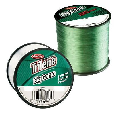 Berkley Big Game Mono Sea Beach Carp Fishing Line Green Or Clear  • 10.95£